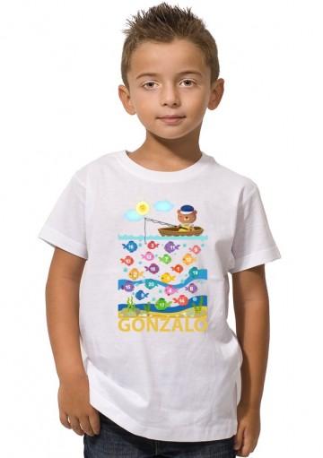 Camiseta Pesca Personalizada
