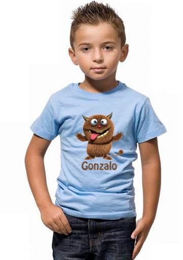 Camiseta Monstruo Personalizada