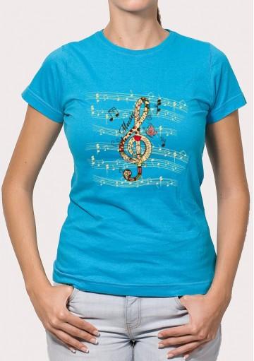 Camiseta Clave Sol Música