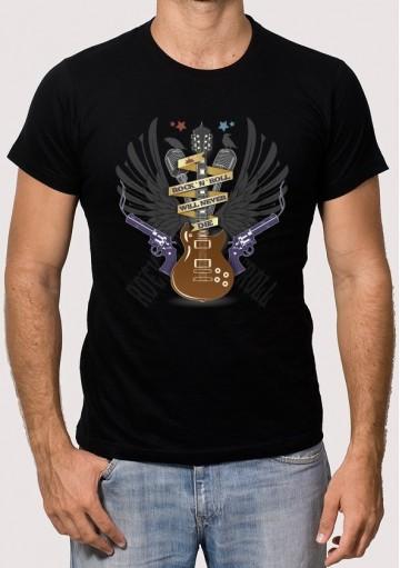 Camiseta Rock Never Die