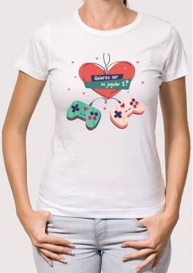 Camiseta Amor Gamer