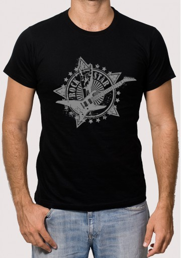 Camiseta Rock Star