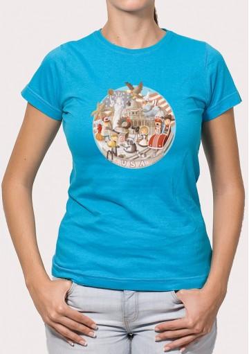 Camiseta Viaje USA