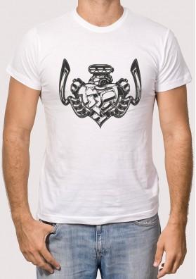 Camiseta Corazón Motor