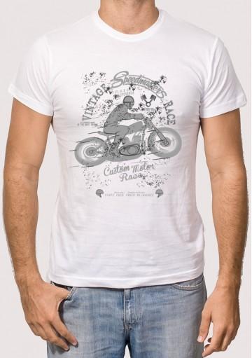 Camiseta Motero Vintage
