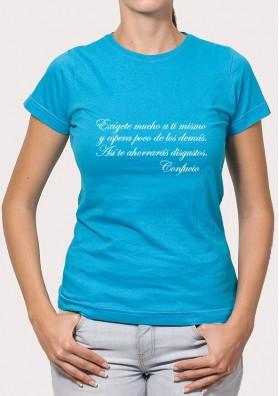 Camiseta Exige Confucio
