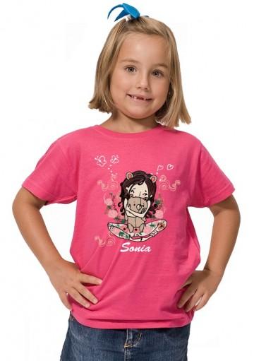 Camiseta Niña Osito