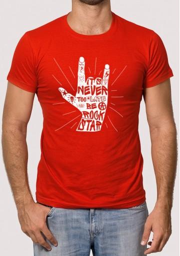 Camiseta Mano Rock
