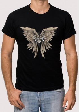 Camiseta Alas Calavera