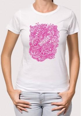 Camiseta musical