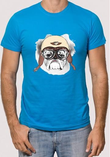 Camiseta Perro Aviador