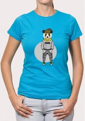 Camiseta Panda Hipster