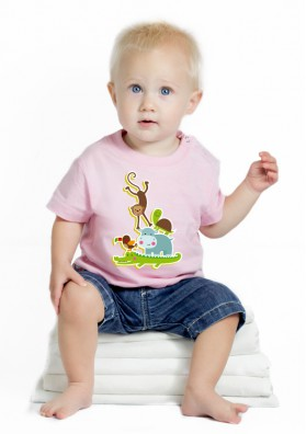 Camiseta Animales Bebé