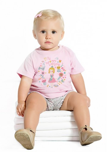 Camiseta Bebe mi Princesa