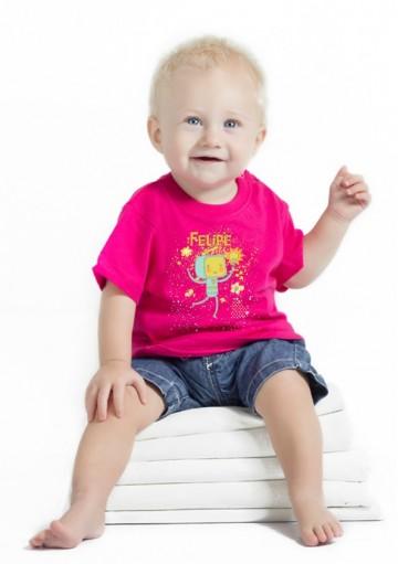 Camiseta Bebé Robot
