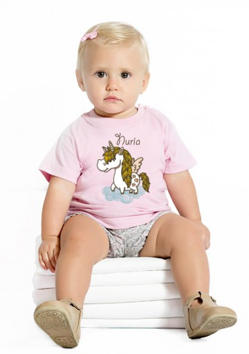Camiseta Bebé Unicornio