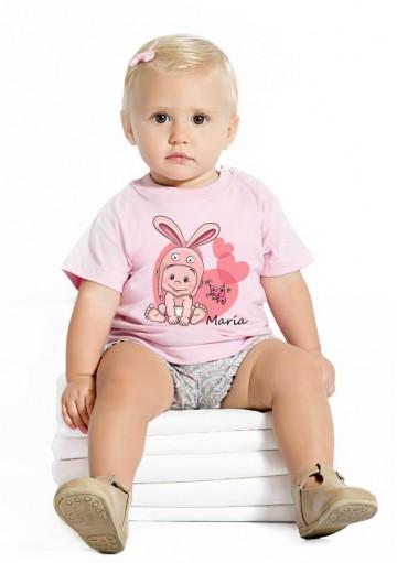 Camiseta Bebé Conejita