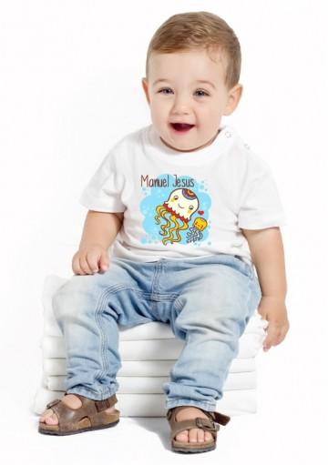 Camiseta Medusas Bebé