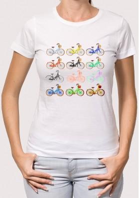 Camiseta Mujer Bicis