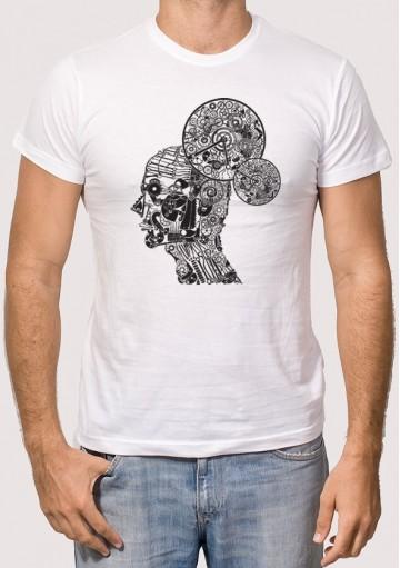 Camiseta Hombre Engranajes