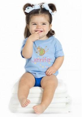 Camiseta Hada Personalizada Bebé