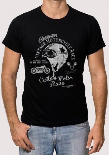 Camiseta Casco Vintage