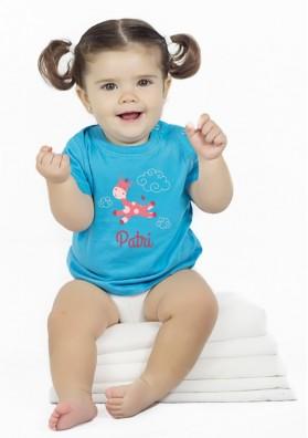 Camiseta Bebé Jirafa
