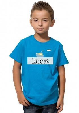 Camiseta Niño Barco