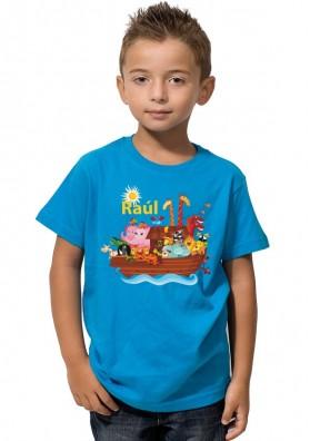 Camiseta Niño Barquitos