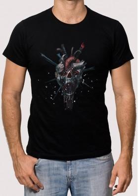 Camiseta Calavera Siniestra