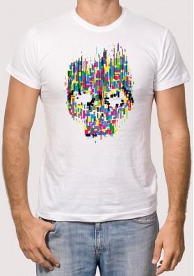 Camiseta Calavera Colores