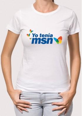 Camiseta yo tenía MSN