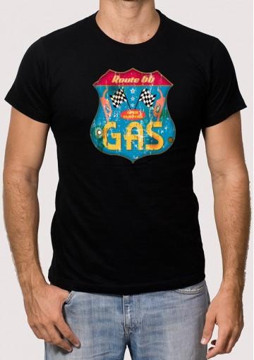 Camiseta Ruta 66 Gas