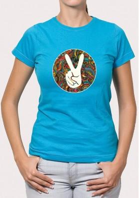 Camiseta Mano Paz o Victoria