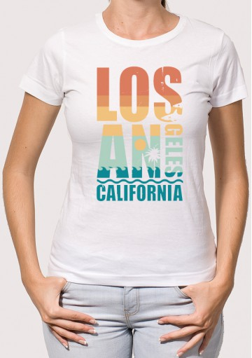 Camiseta Los Angeles California