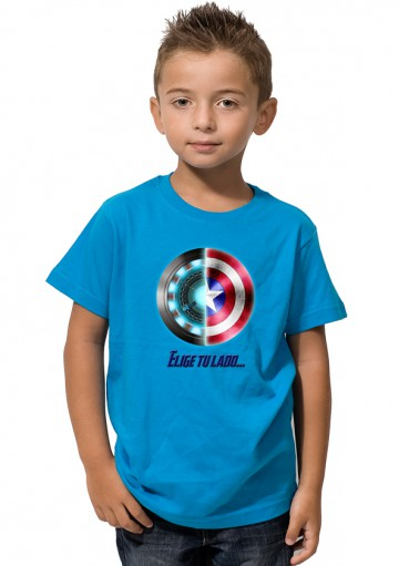 Camiseta Civil War Logo