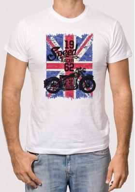Camiseta Retro Bandera Britanica