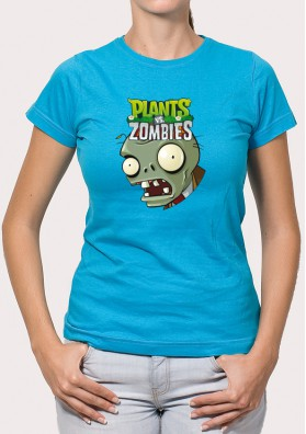 Camiseta Plantas VS Zombies