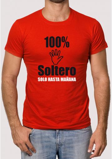 Camiseta Despedida 100% Soltero