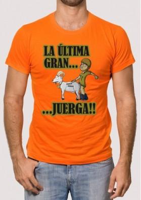 Camiseta La Última Gran Juerga