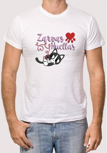 Camiseta Solidaria Zarpas y Huellas 1