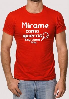 Camiseta Mírame Soy como Soy