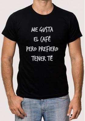 Camiseta Café o Té