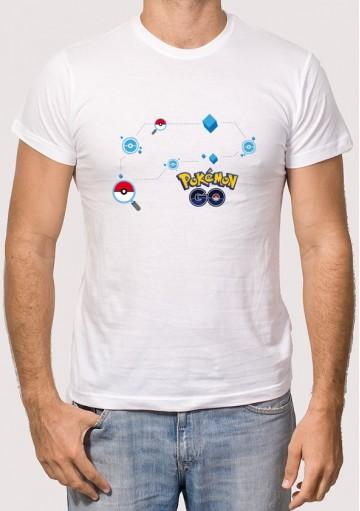 Camiseta Mapa Pokémon GO