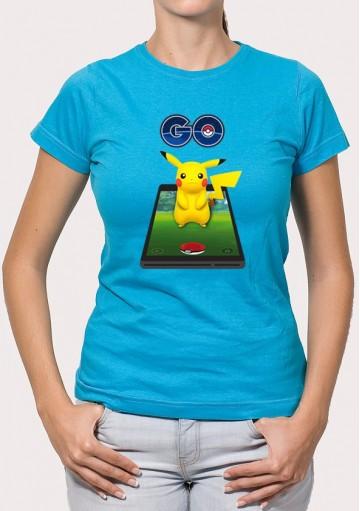 Camiseta Pikachu Móvil
