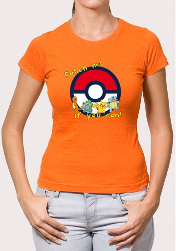 Camiseta Catch me Pokémon GO