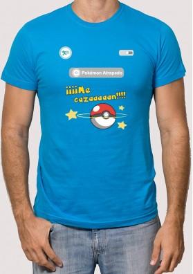 Camiseta Me Cazan Pokémon