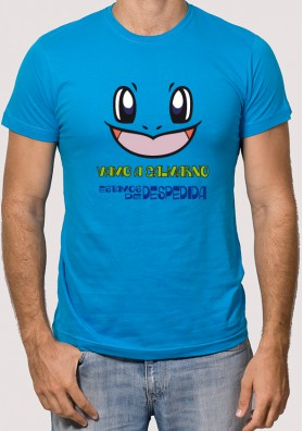Camiseta Despedida Squirtle