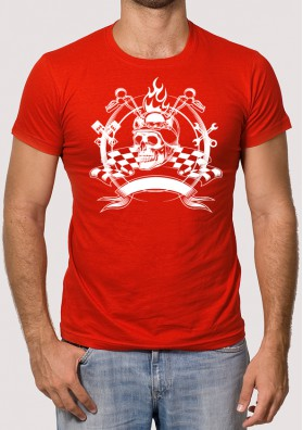Camiseta Motero Custom
