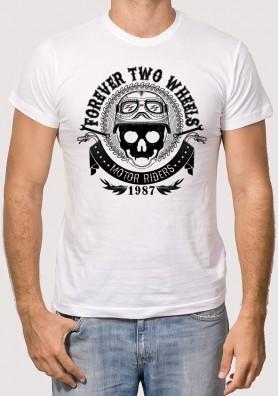 Camiseta Calavera Motor Rider